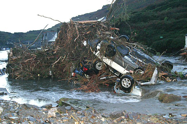 boscastle flood case study causes