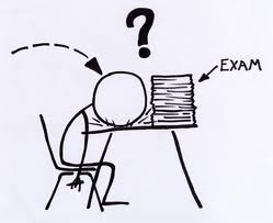 exam question cartoon