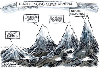 nepal cartoon